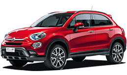 Fiat 500X in Laguna Beach