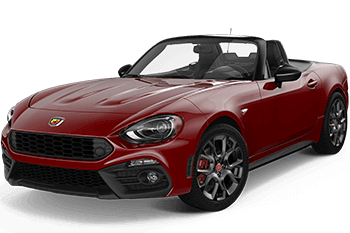 Orange Coast Fiat 124 Spider