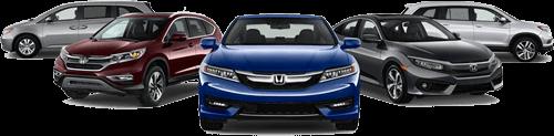 Assorted Hondas