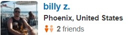 Phoenix, CA Yelp Review