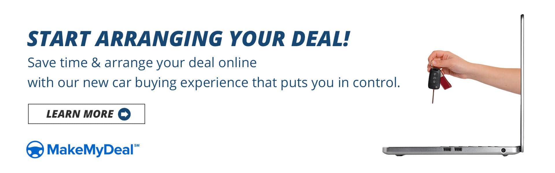 Start Arranging Your Deal