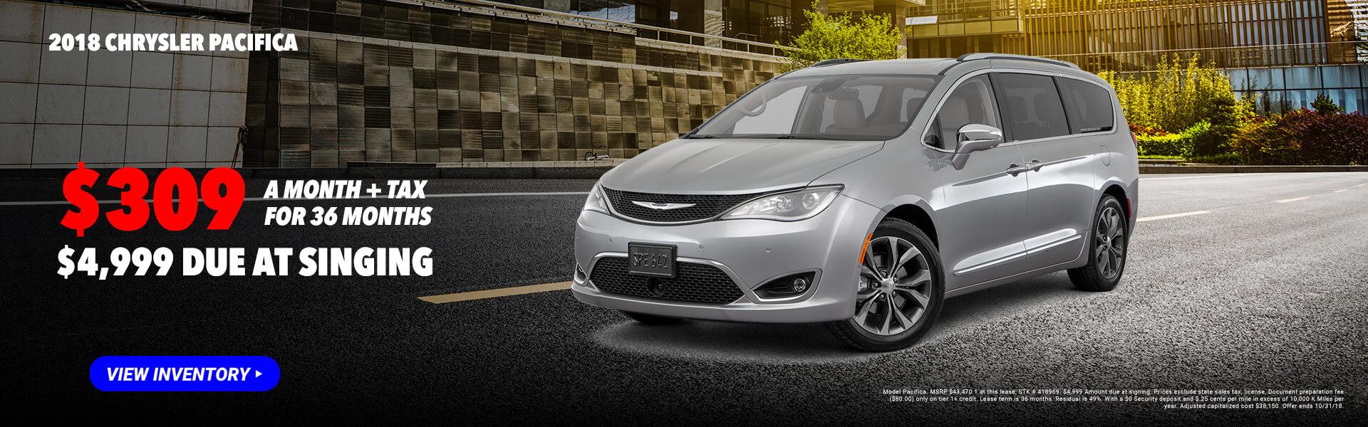 2018 Chrysler Pacifica #418969