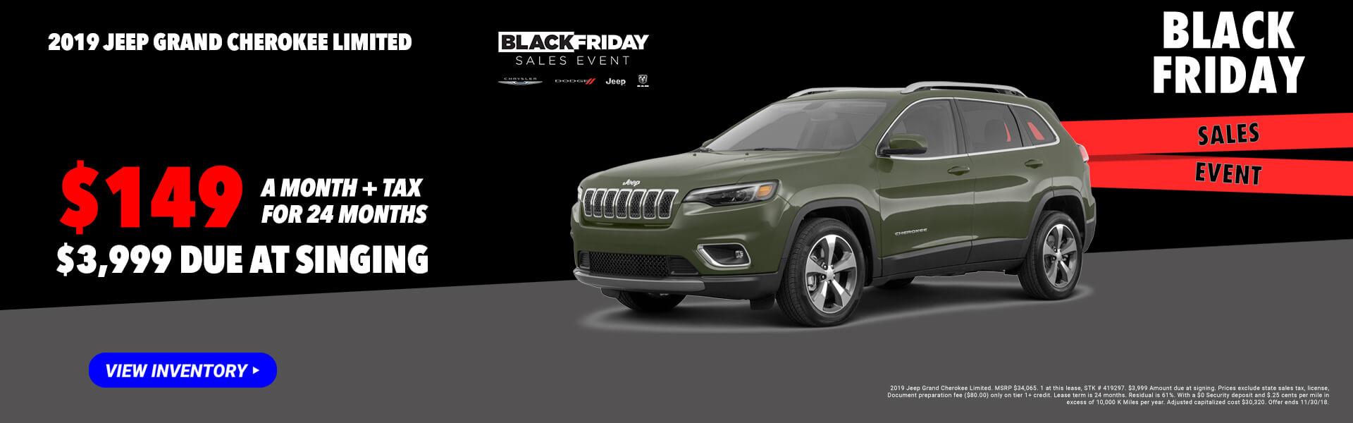 2019 Jeep Cherokee 419297