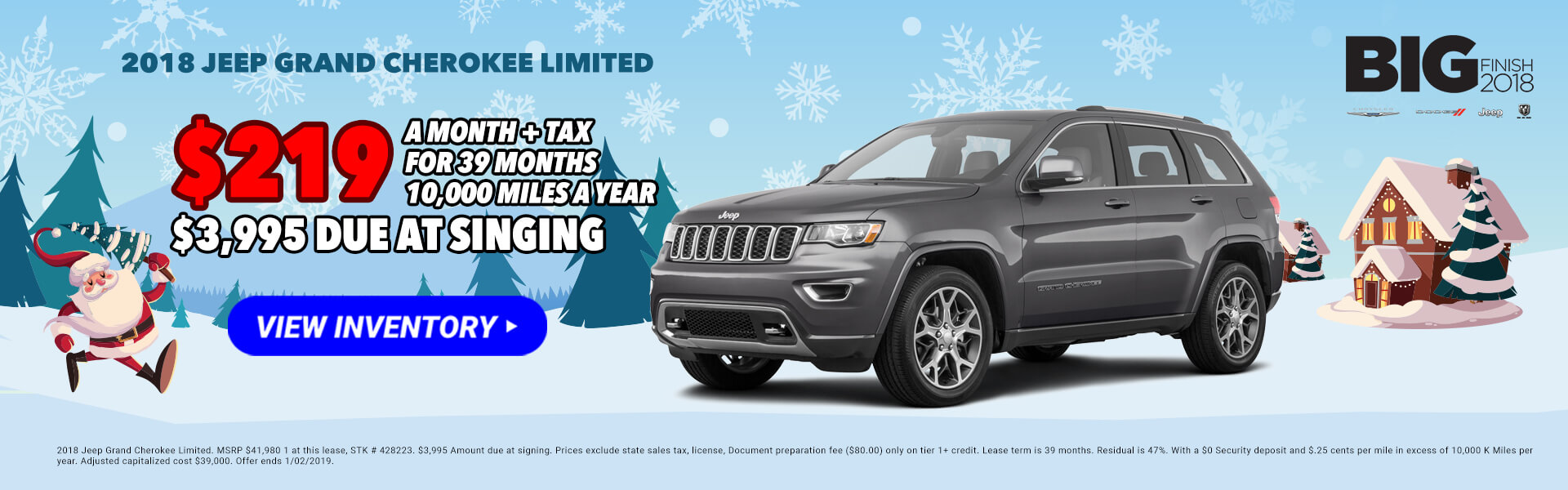2018 Jeep Grand Cherokee 428223