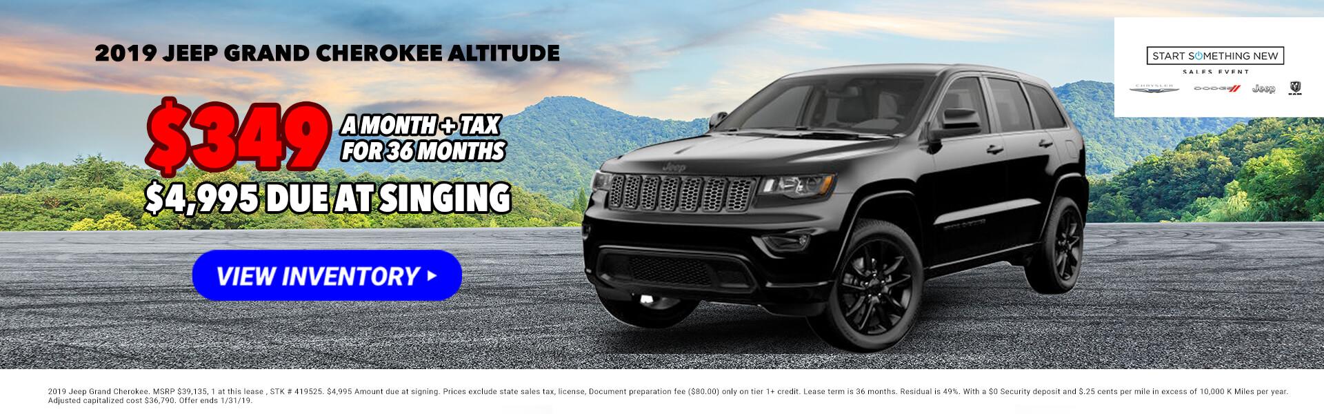2019 Jeep Grand Cherokee 419525