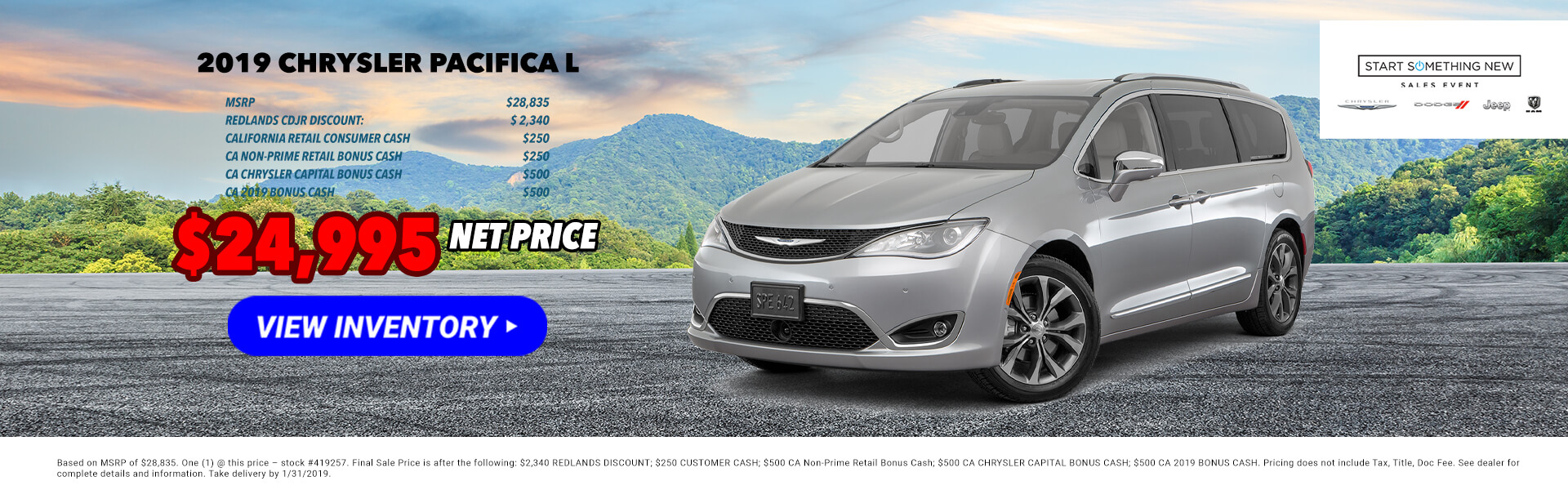 2019 Chrysler Pacifica 419257