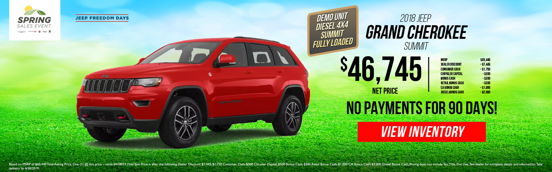 Jeep Grand Cherokee Summit 418924