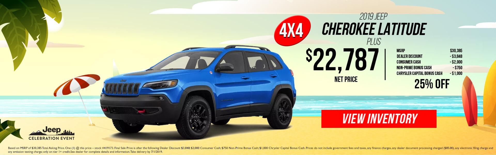Jeep Cherokee 419173