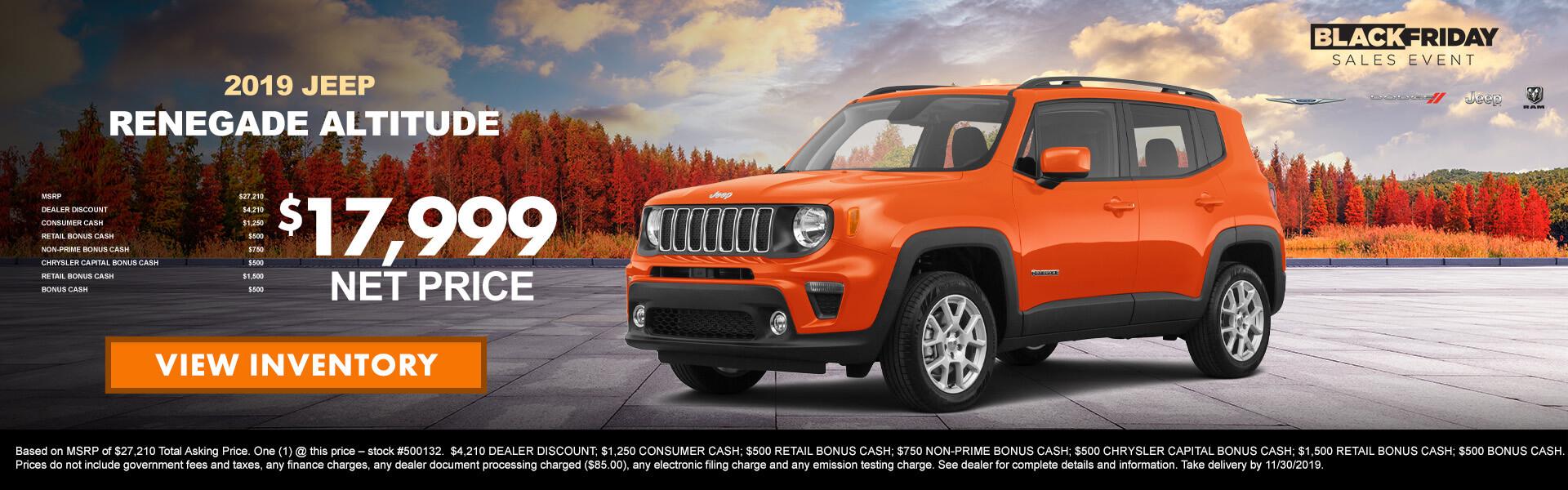 Jeep Renegade 500132