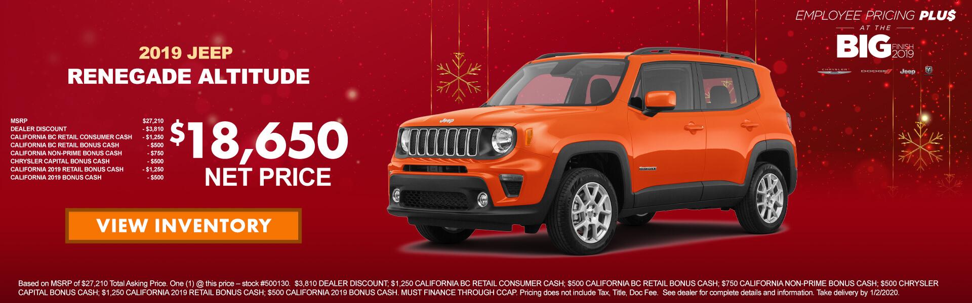 Jeep Renegade 500130