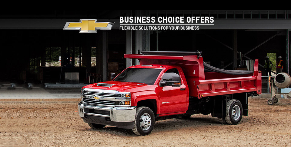 Load Up On These Chevrolet Offers The 2017 Business Choice