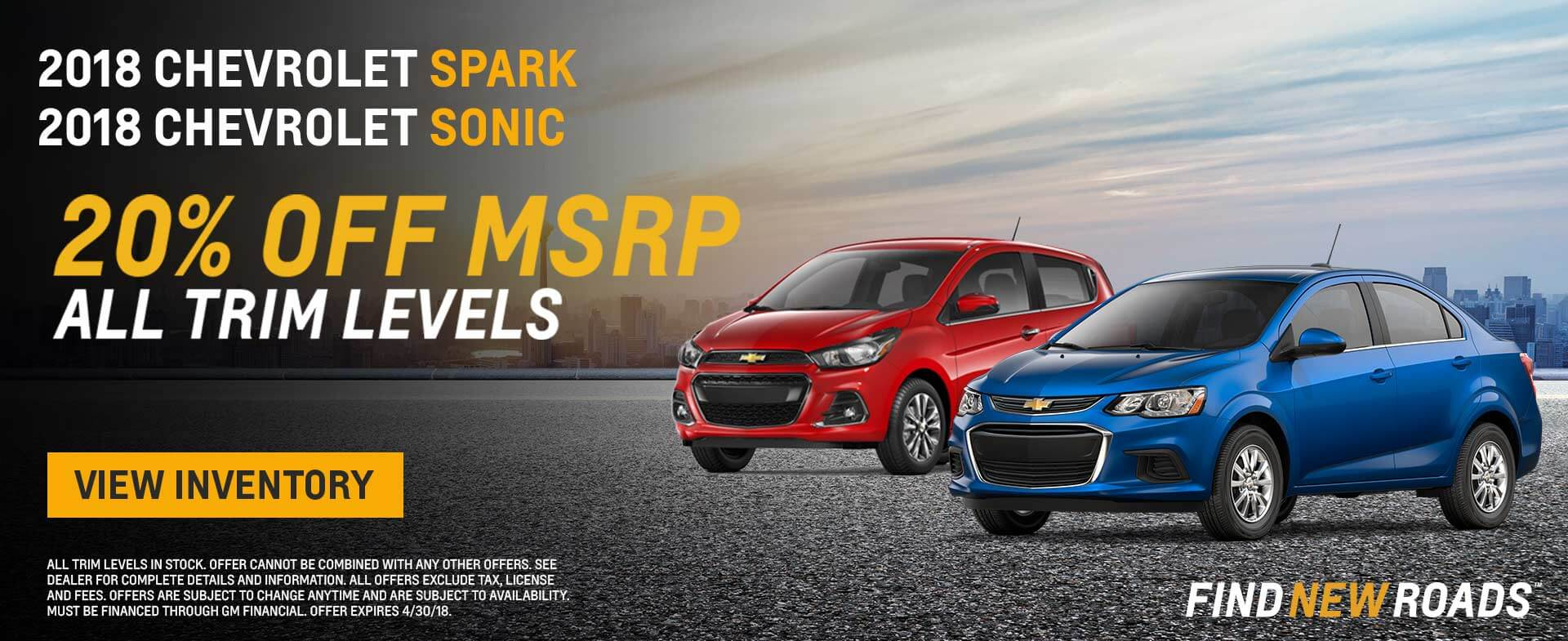 2018 Chevy Sonic Spark HP
