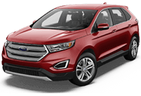 Ford Edge in Lytle Creek