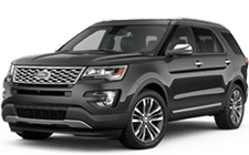 Ford Explorer in La Canada Flintridge