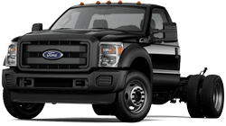 Ford F-550 serving  Downey