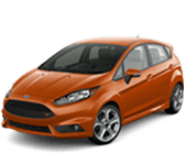 Ford Fiesta serving  Pasadena