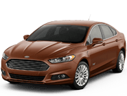 Ford Fusion Energi in Dodgertown