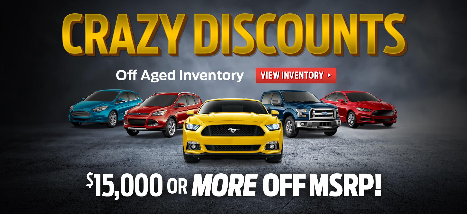 Crazy Discounts