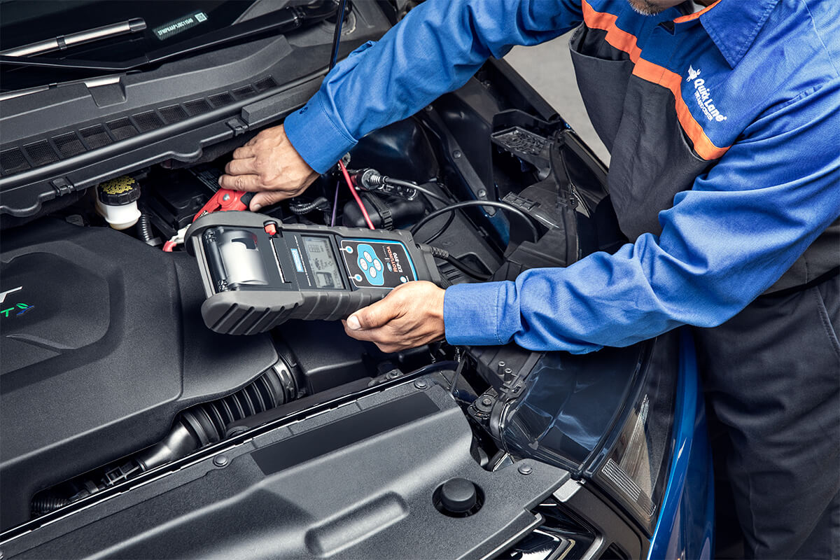 HAVE YOUR BATTERY TESTED. FREE.*