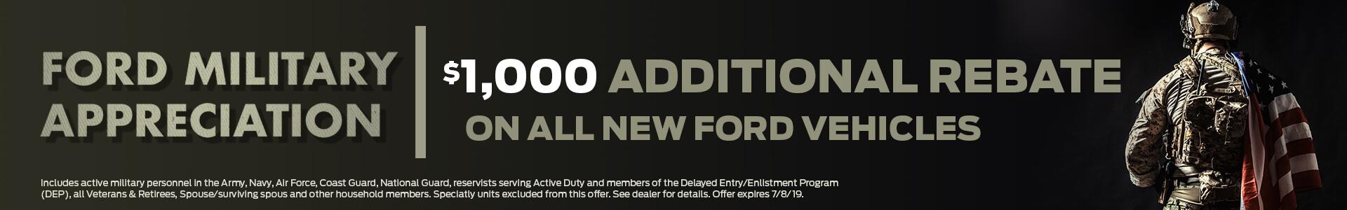 Ford Military Rebate