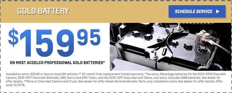 Gold Battery