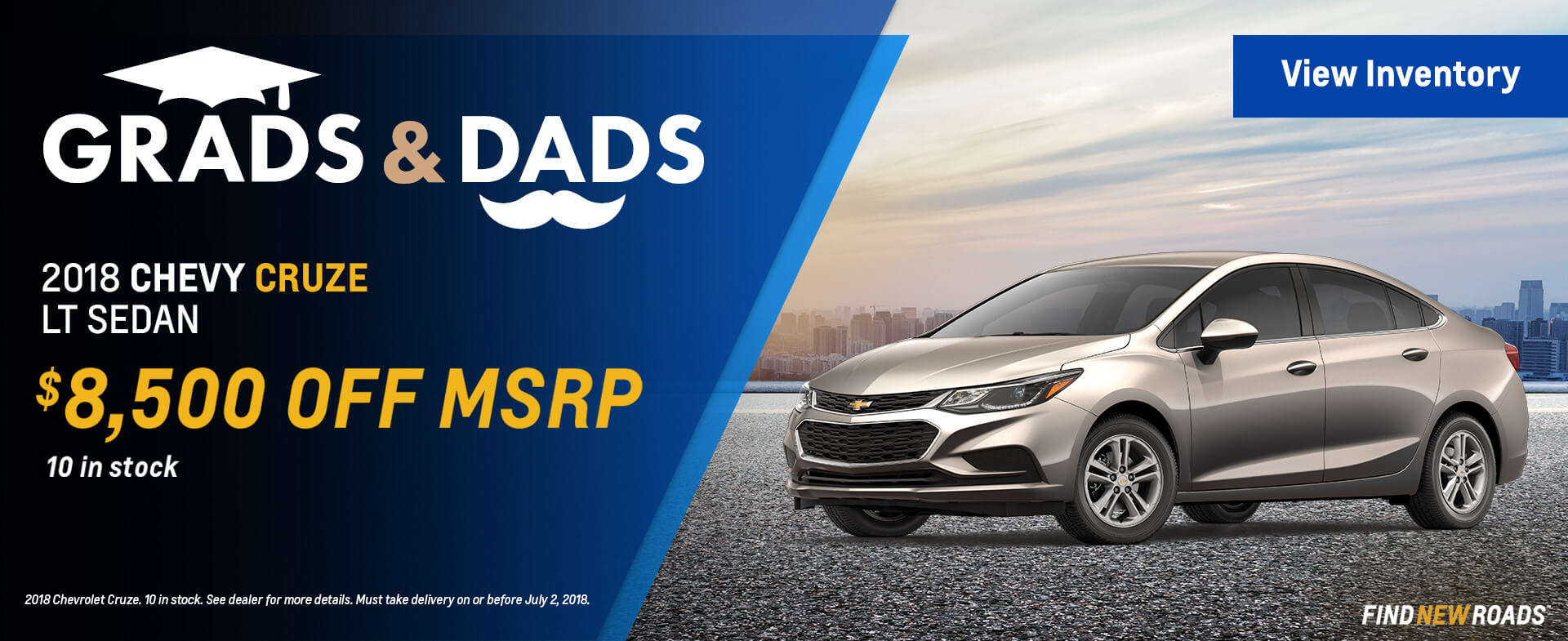 Grads and Dads Cruze