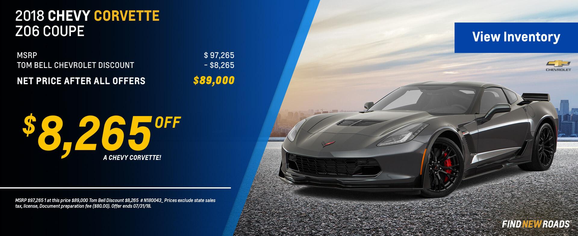 N180043 Corvette