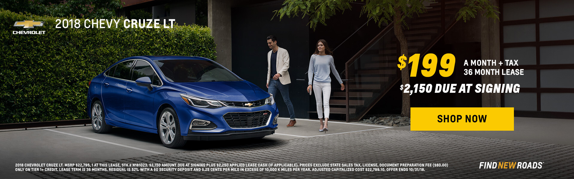 Cruze Lease Special