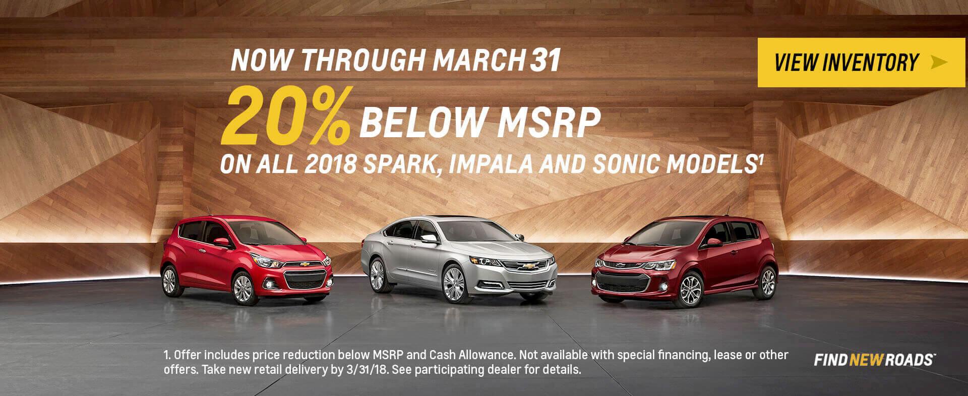 OEM Sonic, Impala & Spark