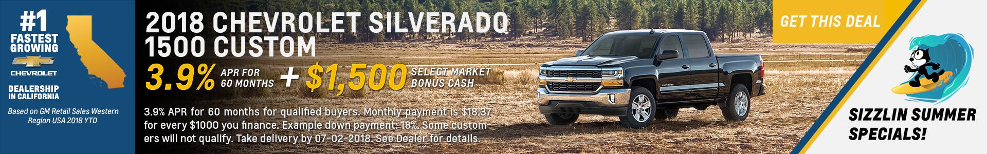 Chevrolet Silverado 3.9% APR