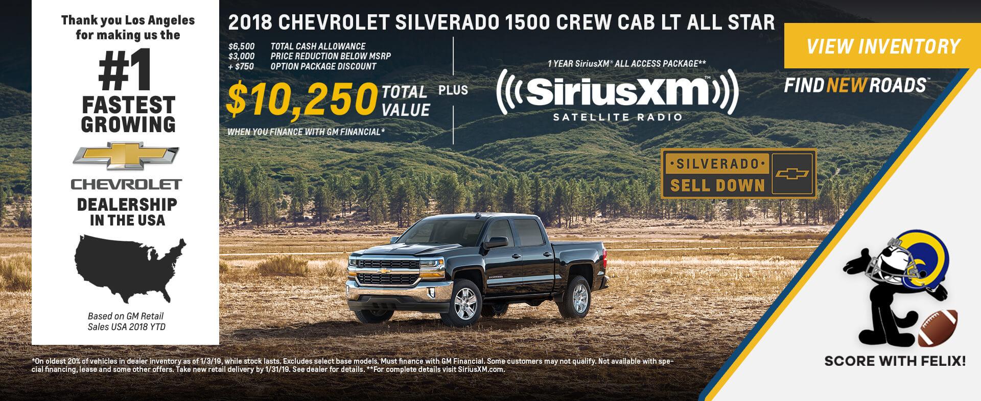 Chevrolet Silverado $10,250K OFF