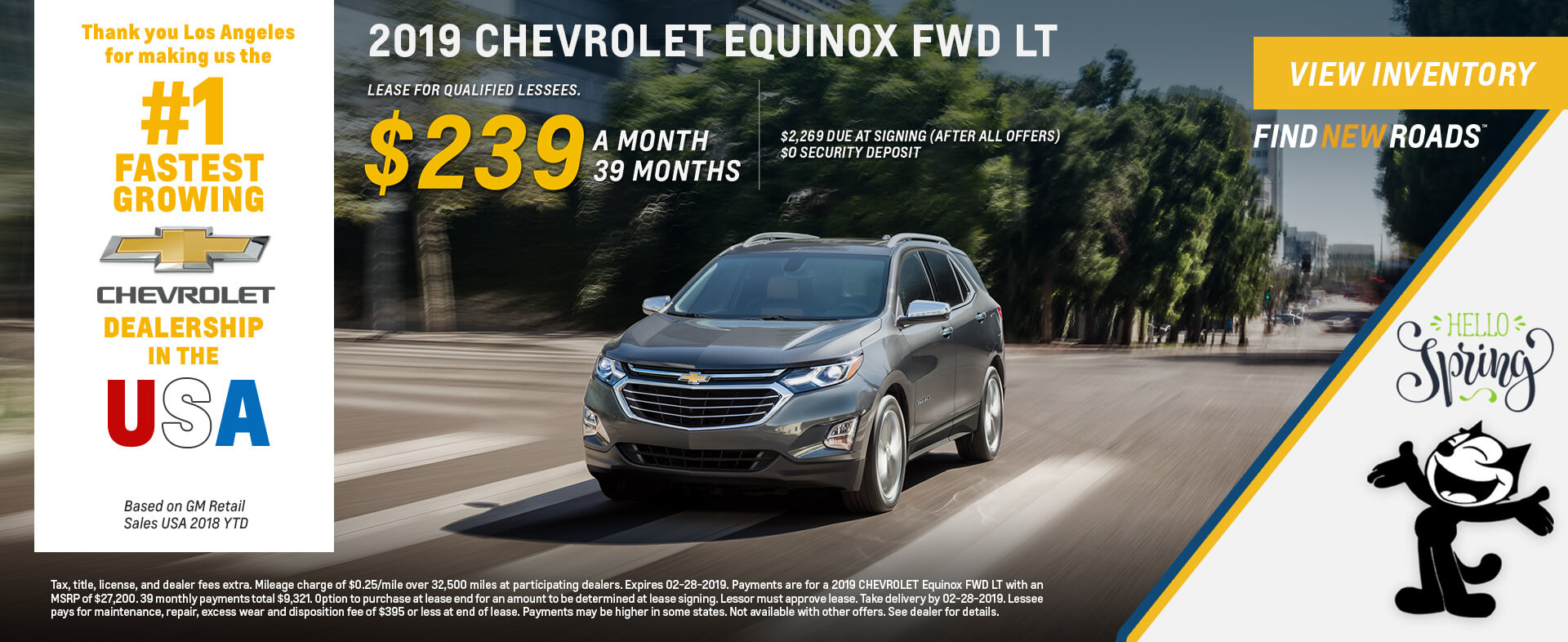 New & Used Chevrolet Dealer - Los Angeles, Glendale, Pasadena & Carson -  Felix Chevrolet
