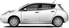 Nissan Leaf serving Springfield