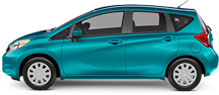 Nissan Versa Note serving LOS ANGELES