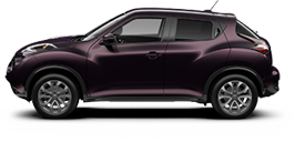 Nissan Juke serving Guatay
