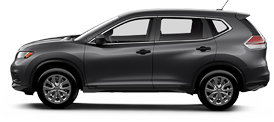 Nissan Rogue serving Warrington