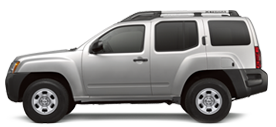 Nissan Xterra in Lytle Creek