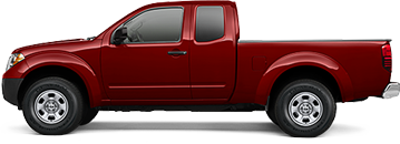 Nissan Frontier Serving Canyon Country