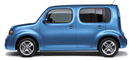 Nissan Cube in Blue Jay