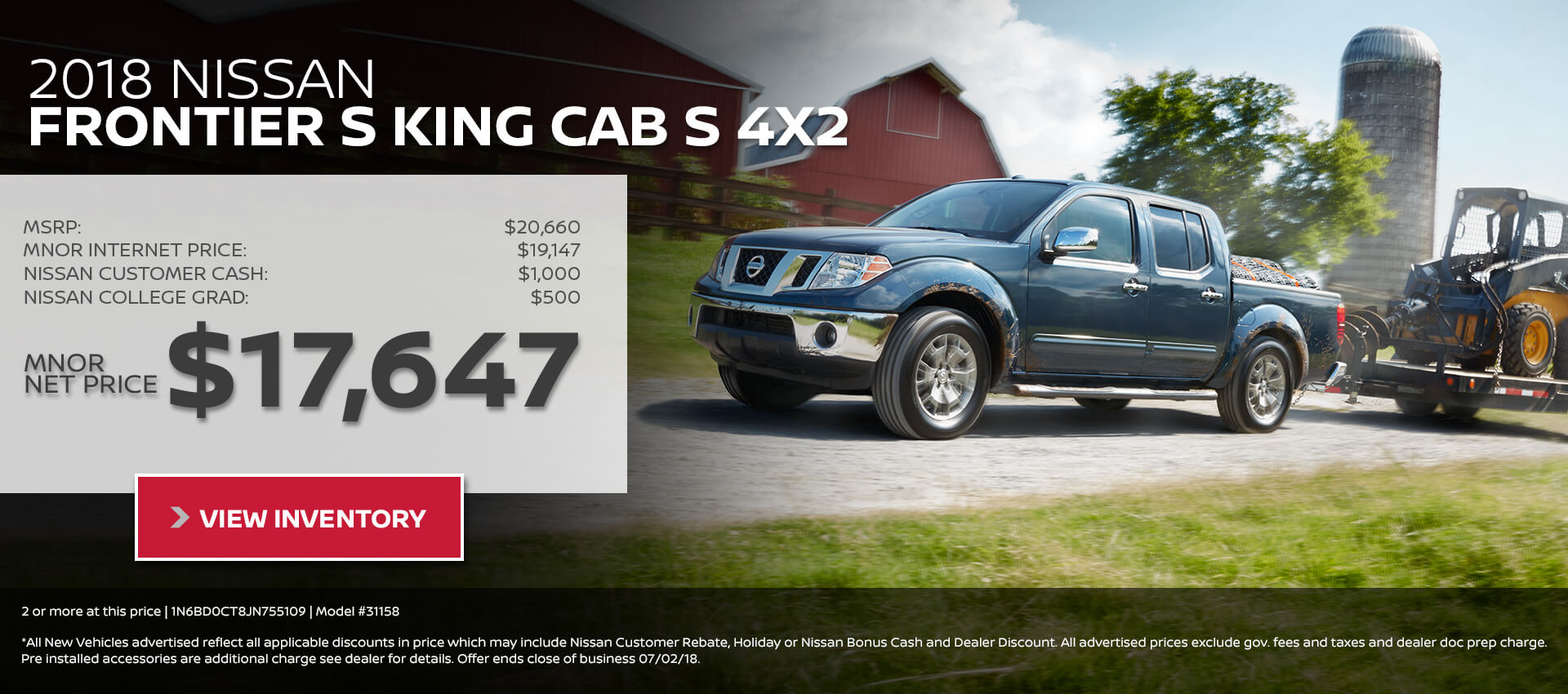 2018 Nissan Frontier King Cab