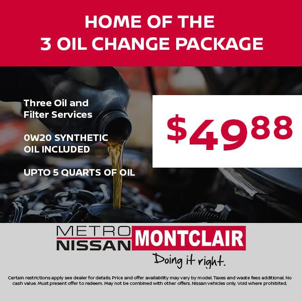 3 Oil Change