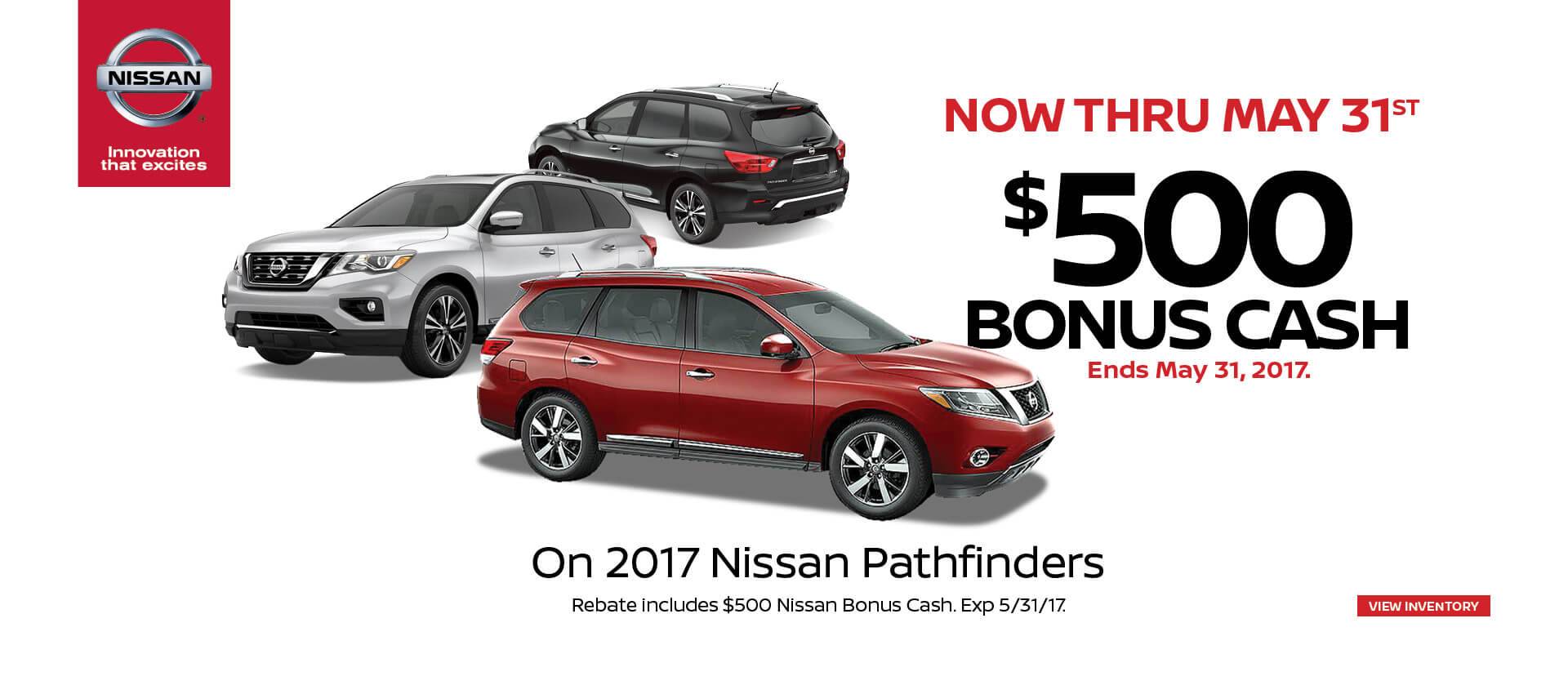 Pathfinder $500 Bonus Cash