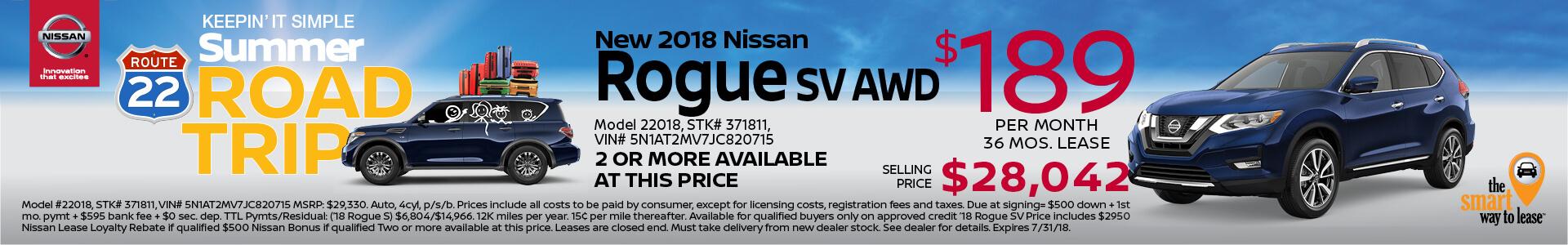 2018 Rogue $169