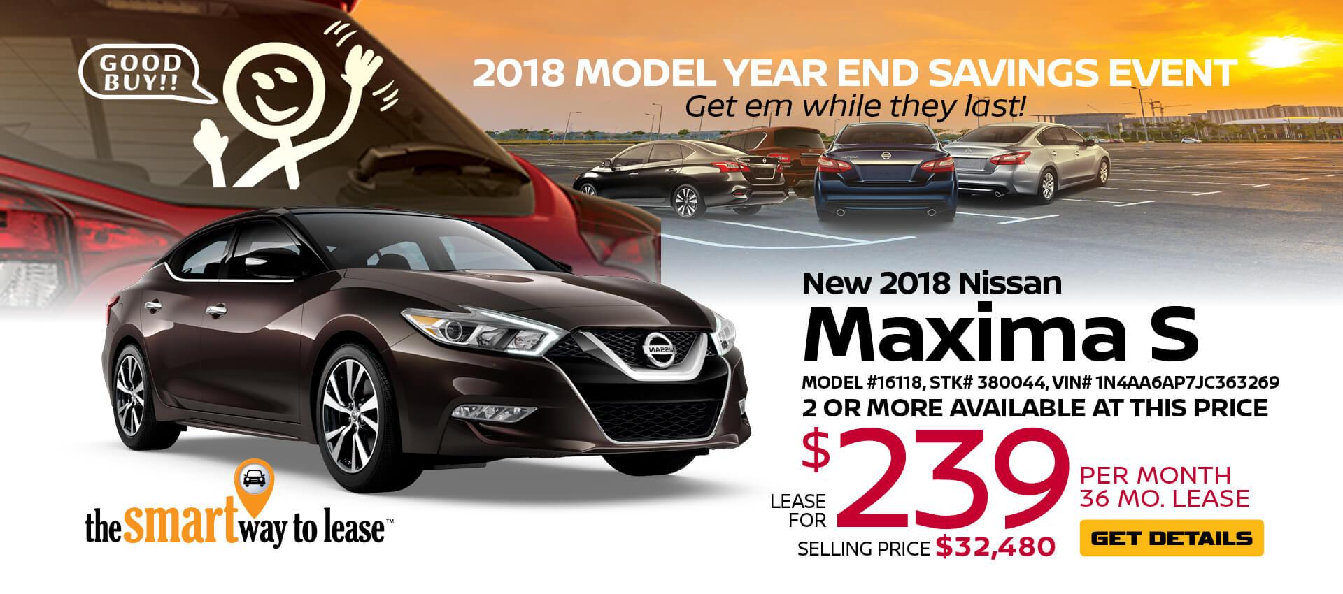 2018 Maxima $239