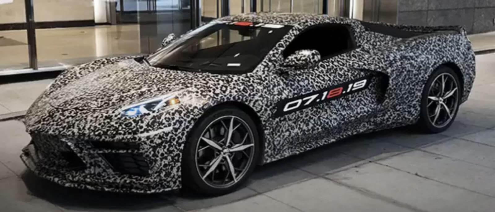 2020 Corvette Preproduction Model