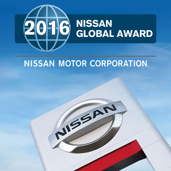 Mossy Nissan El Cajon >> Mossy Receives Nissan 2016 Global Excellence Award - Mossy ...