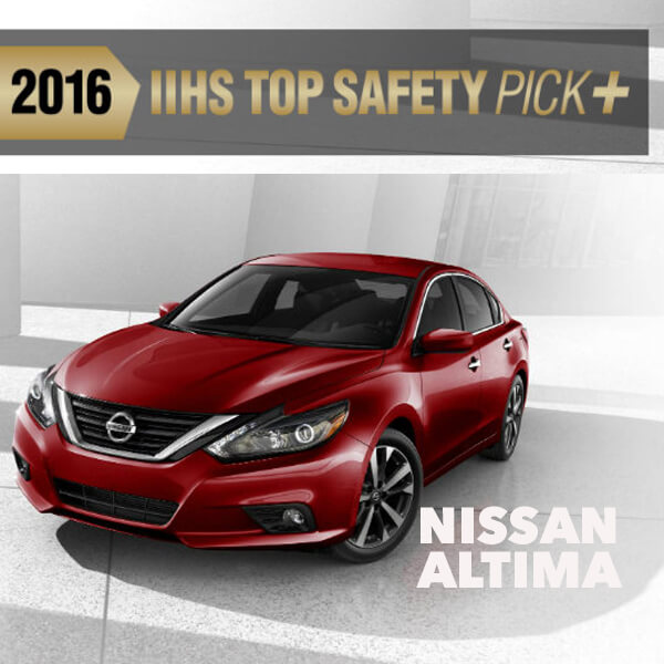 The 2016 Nissan Altima Joins The Previously Announced 2016 Nissan Maxima  And 2016 Nissan Murano In Earning The TSP+ Rating, The Highest Safety  Designation ...