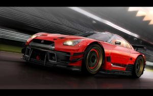 CREDIT Sexyli Awesome Nissan Gtr Wallpaper White Left Angle View