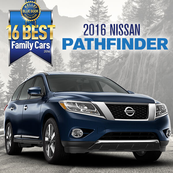 """Nissan Pathfinder Named One Of The """"16 Best Family Cars Of"""