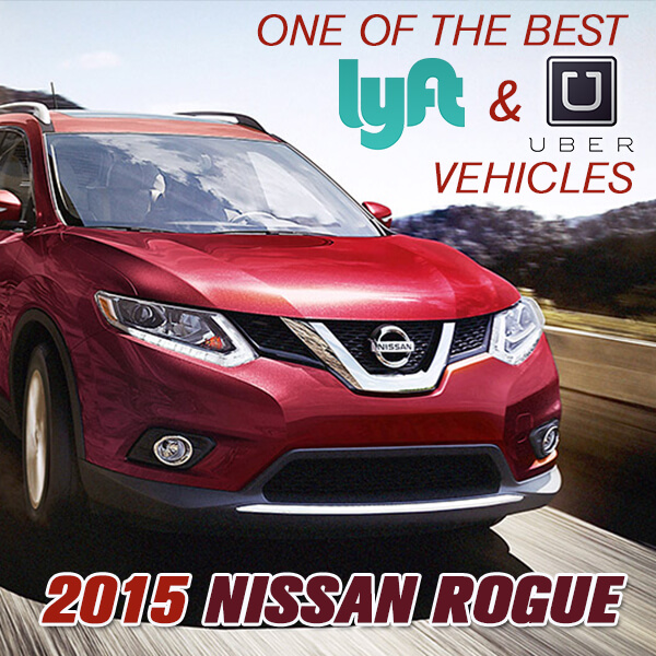 Autotrader lists the Nissan Rogue as one of the Top 7 Uber vehicles